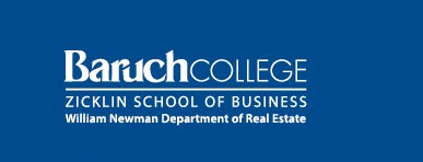 Baruch College, Zicklin School of Business, William Newman Programs in Real Estate